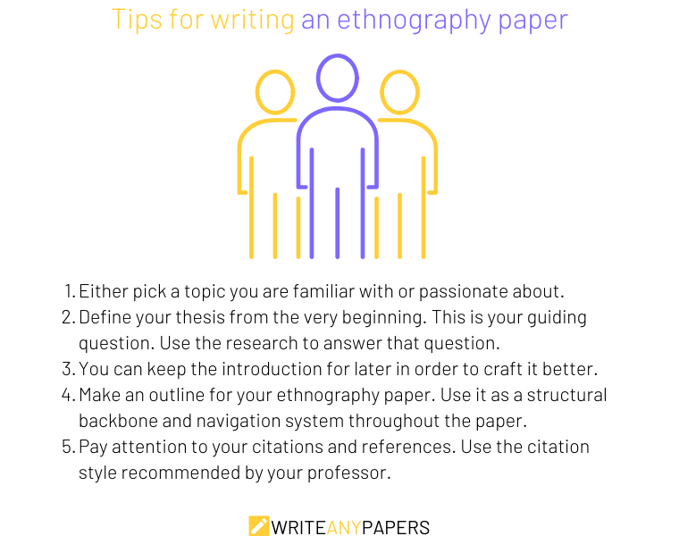 How to write an ethnography paper: 5 tips to keep in mind