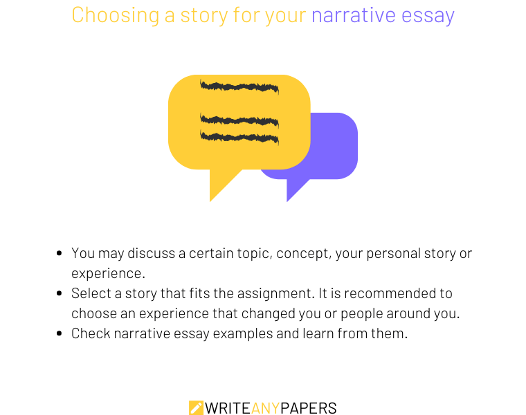 Tips on choosing a topic for your narrative essay