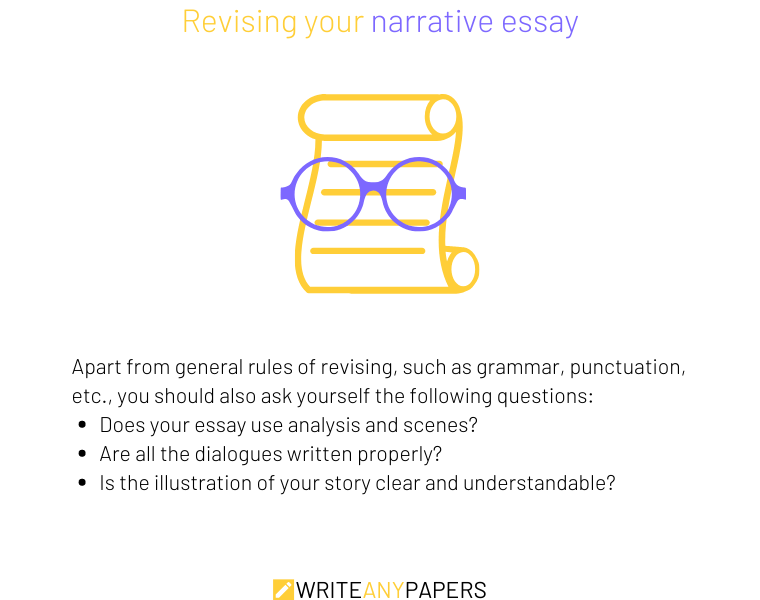 How to revise a narrative essay easily